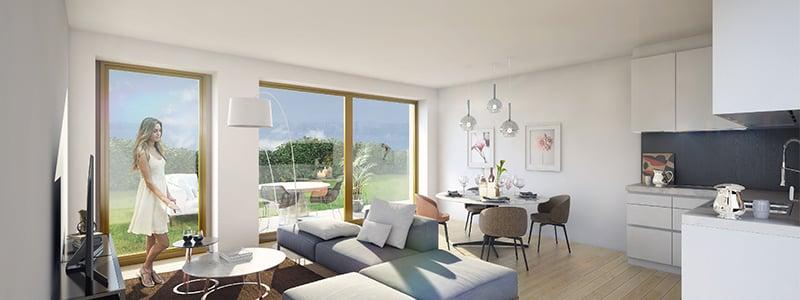 interieur Residentie Schuman Urbicoon