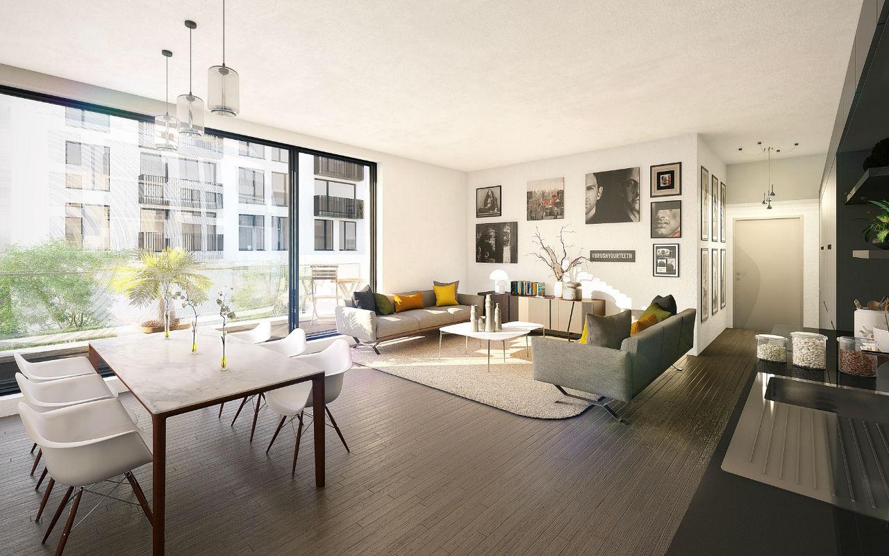 luxe interieur Résidence Schuman Urbicoon