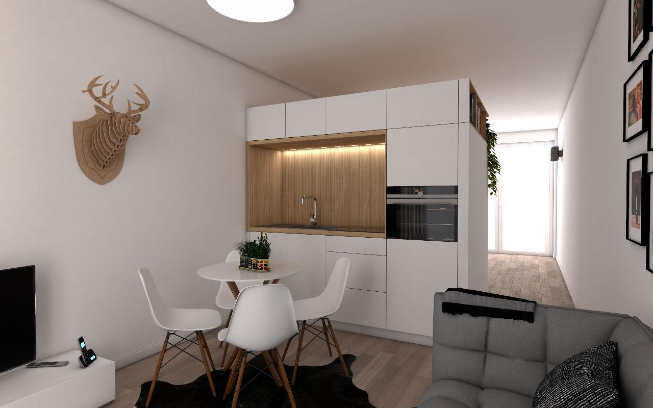 licht interieur Residentie Schuman Urbicoon